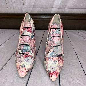 Elle Pumps Heels Floral